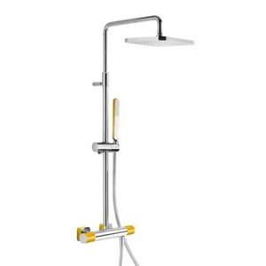 TRES Souprava termostatické sprchové baterie · Pevná sprcha 220x220 mm. s kloubem. (299.632.06) 20019501AM