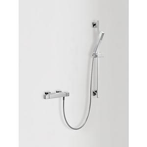 TRES Sprchová sada s termostatickou baterií · Posuvná tyč 842 mm (1.07.935). · Ruční sprcha, p 00716402