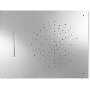 TRES Stropní sprchové kropítko z nerez. oceli, proti usaz. vod. kamene 2 typů proudění vody (Dé 29997001