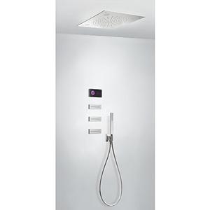 TRES Termostatický podomítkový elektronický sprchový set SHOWER TECHNOLOGY CHROMOTHERAPY · Včet 09288310