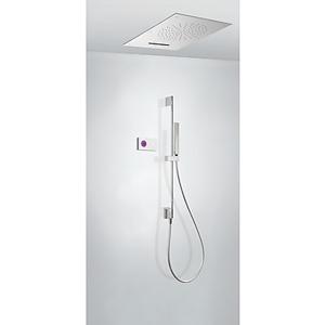 TRES Termostatický podomítkový elektronický sprchový set SHOWER TECHNOLOGY · Včetně elektronick 09286303
