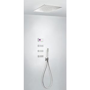 TRES Termostatický podomítkový elektronický sprchový set SHOWER TECHNOLOGY · Včetně elektronick 09286312