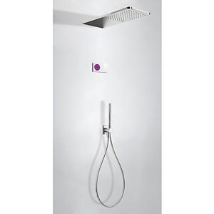 TRES Termostatický podomítkový elektronický sprchový set SHOWER TECHNOLOGY · Včetně elektronick 09286554