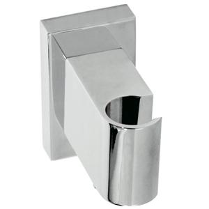 TRES Úchyt ruční sprchy se stěnovou přípojkou vody s nastavitelným výstupem pro vodu a zpětným 20718201