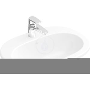 VILLEROY & BOCH O.novo Zápustné jednootvorové umyvadlo s přepadem, 560 mm x 405 mm, bílé, Zápustné jednootvorové umyvadlo s přepadem, 560 mm x 405 mm, bílé umyvadlo, s Ceramicplus 416156R1