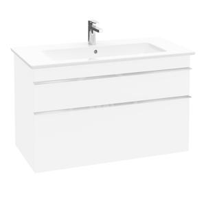 VILLEROY & BOCH Venticello Umyvadlová skříňka, 753x590x502 mm, 2 zásuvky, Glosy White A92501DH